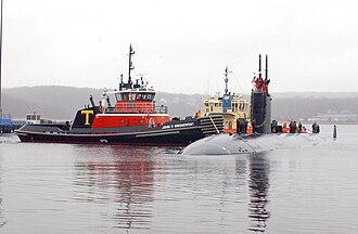USS Alexandria (SSN-757) - USS Alexandria returns home to New London, CT.