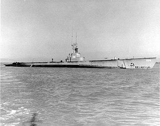 USS <i>Capitaine</i> (SS-336) Balao-class submarine