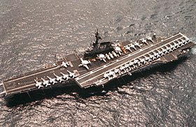 USS Coral Sea (CV-43) aerial photo in 1986.JPEG