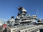 USS Iowa - side view from gangway.jpg