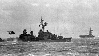 USS James C. Owens - USS James C. Owens off Vietnam, in 1970.