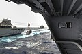 USS Nimitz conducts a replenishment. (9718805644).jpg