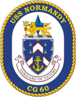 Crest of USS Normandy