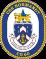 USS Normandy CG-60 Crest.png