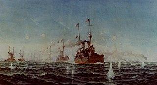 Battle of Manila Bay 1898 battle during the Spanish–American War