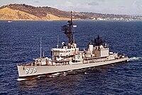 USS Orleck (DD-886) underway off Point Loma, in 1964.jpg