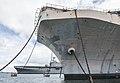 USS Tarawa (LHA-1) and USS Peleliu (LHA-5) laid up at Pearl Harbor in May 2016.JPG