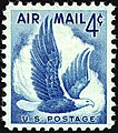 US Airmail Eagle 4c 1954 issue.JPG