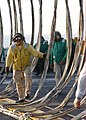 US Navy 020308-N-0012S-004 USS Kennedy - recovery net inspection.jpg