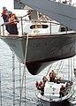 "US Navy 020828-N-8955H-007 Sailors man ""monkey line"" ropes while practicing deployments.jpg"