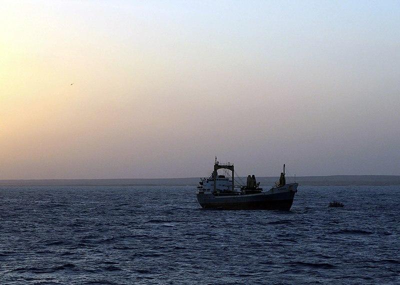 File:US Navy 071202-N-3764J-004 Merchant vessel Al Marjan was released from pirates off the Somali coast Dec. 2.jpg