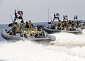 US Navy 080903-N-4500G-090 Naval Special Warfare 11-meter rigid-hull inflatable boats transit the Pamlico Sound.jpg