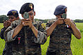 US Navy 100716-N-9643W-596 Guatemalan marines use compasses to find pre-determined points in a field during the Marine Corps subject matter expert exchange.jpg