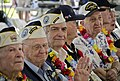 US Navy 111204-N-RI884-035 Pearl Harbor survivors observe the U.S. Naval Sea Cadets Concert Band of the West perform at the Pearl Harbor Visitor's.jpg
