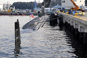 US Navy 111221-N-DI599-073 USS North Carolina is moored at Fleet Activities Yokosuka.jpg