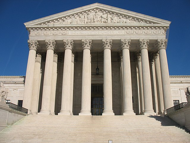 From commons.wikimedia.org: US Supreme Court {MID-303079}