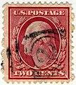 US stamp 1908 2c Washington.jpg