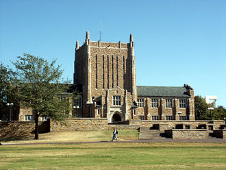 University of Tulsa - McFarlin Library