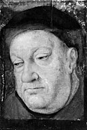 Ubekendt nederlandsk 1400-tallet - Portrait Head of an Elderly Man - KMSsp732 - Statens Museum for Kunst.jpg