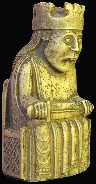 Macaulay family of Lewis - The Lewis Chessmen were discovered in the parish of Uig, on Lewis, in 1831. They are thought to have been made in Scandinavia, in the late 12th century, when the Outer Hebrides were a part of the Kingdom of Norway.