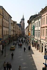 Ulica Floriańska w Krakowie.jpg