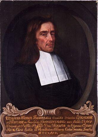 States of Friesland - Portrait of Ulrik Huber