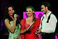 Ulrike Beimpold, Katrin Lampe, Andrej Chitu, dancer against cancer 2010.jpg