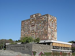 Unam central library.JPG