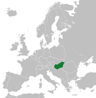 Second Hungarian Republic - Image: Ungheria (1945 1949)