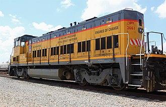 Railpower RP20BD - Image: Union Pacific Genset switcher, Eureka Yard