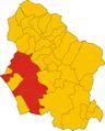 Unione dei comuni della Versilia-mappa comuni.png