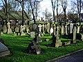 Unitarian Church, Monton, Graveyard - geograph.org.uk - 681170.jpg