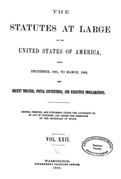 File:United States Statutes at Large Volume 22.djvu
