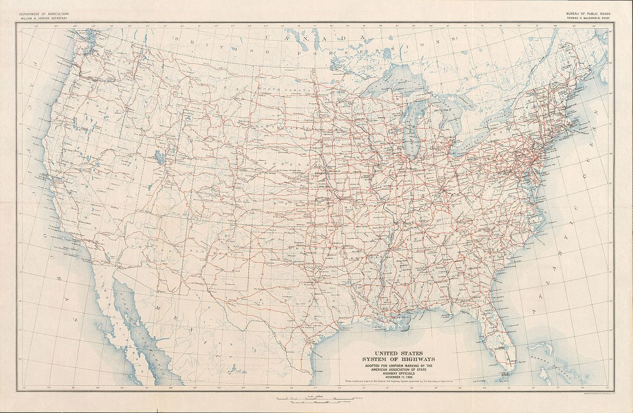 Datei:United States System of Highways Adopted for Uniform Marking ...