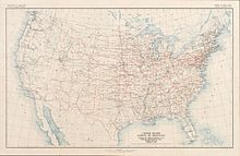 WikiZero United States Numbered Highway System - Us map numbered