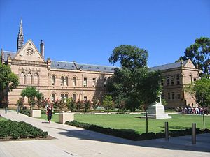 Part of the University of Adelaide campus at N...