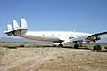 Unmarked Lockheed Constellation C-121G ( N105CF ) (8391107855).jpg