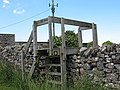 Unusual stile on a footpath diversion - geograph.org.uk - 1401884.jpg