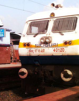 Saraighat Express - WDP-4 hauling Saraighat Express