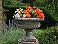 Urn planter at Easton Lodge Gardens, Little Easton, Essex, England 4.jpg