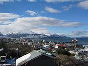 The city of Ushuaia in September.