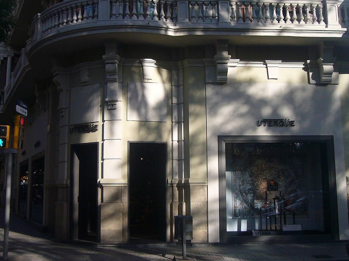 Uterq e wikipedia la enciclopedia libre for Oficinas inditex barcelona