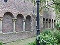Utrecht Rijksmonument 36352 Mariakerk zuidelijke arm kruisgang muur doorlopend.JPG