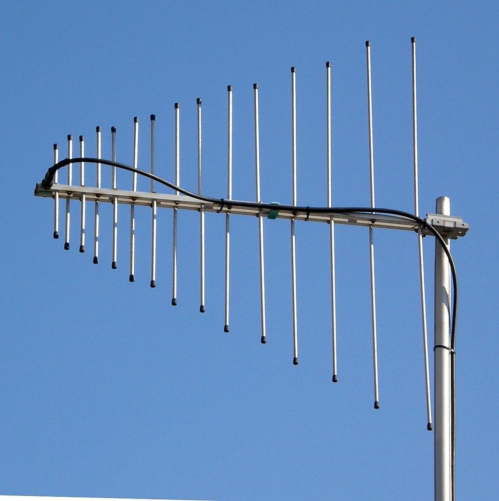 VHF UHF LP-antenna closeup