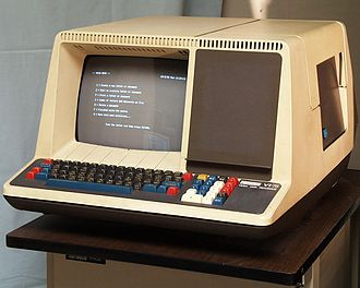 DECmate - DEC VT78 Video Data Processor: a PDP-8 built into a VT52 body