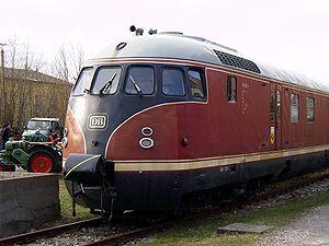 """Augsburg Railway Park - Diesel railbus VT 12.5 """"Stuttgarter Rössle"""""""