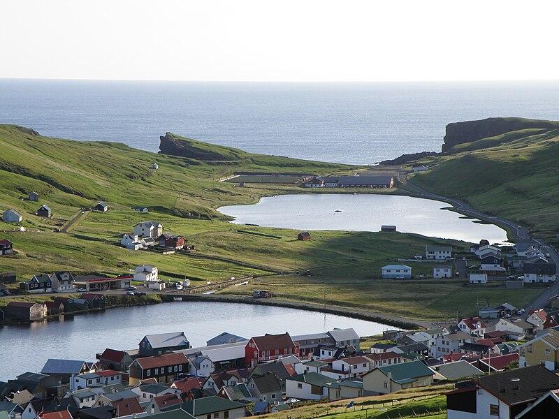 File:Vagur Suduroy Faroeislands East and West Coast.JPG