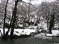 Valjevske planine - zapadna Srbija - reka Gradac - mesto Ćelije - ispod manastira Čelije - Erozivna brana 5.jpg