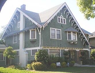 Van Buren Place Historic District - Image: Van Buren Place Historic District House 3, Los Angeles