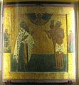 Vasily the Great with Vasily and Maxim Blazeny (16-17 c, Sobor Vas. Blazh).jpg